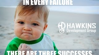 3 Successes from Every Failure   HawkDG