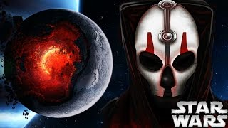 The Sith That Could Destroy Planets - Star Wars Explained