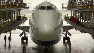 getlinkyoutube.com-British Airways Boeing 747-400 in D-Check