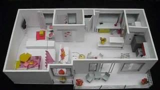 getlinkyoutube.com-Costa Rica Maqueta Apartamento de Disenadora de Interiores