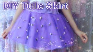 getlinkyoutube.com-DIY Easy Tulle Skirt