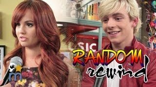 getlinkyoutube.com-AUSTIN & ALLY and JESSIE Casts Dance & Answer Random Questions - Random Rewind