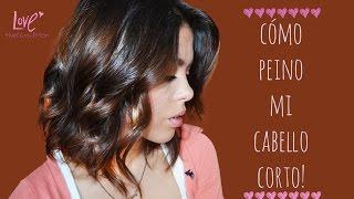 getlinkyoutube.com-Cómo peino mi cabello corto/Mon♥