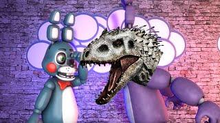 getlinkyoutube.com-FNAF [SFM] DinoBonnie Jumpscare (Bonni watches Jurassic World)