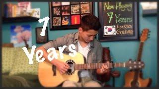 getlinkyoutube.com-Lukas Graham -7 Years - Cover (fingerstyle guitar)