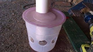 getlinkyoutube.com-Making an auto chicken feeder - Part 1