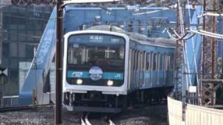getlinkyoutube.com-さよなら京浜東北線209系 ありがとうヘッドマーク 【209 series,Keihin-Tohoku】
