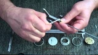 getlinkyoutube.com-Dial Caliper Disassemble & Assemble