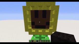 getlinkyoutube.com-Minecraft|Plants VS Zombies Sunflower and Snow Pea Tutorial