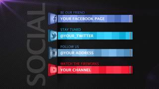 Social Media - After Effects Template