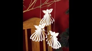 getlinkyoutube.com-Quilling Angel