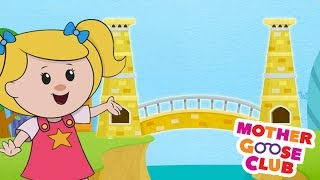 getlinkyoutube.com-London Bridge Is Falling Down | Mother Goose Club Rhymes for Kids