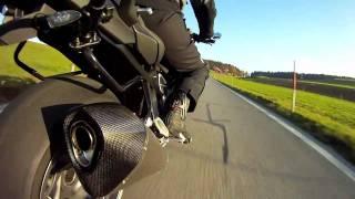 getlinkyoutube.com-Akrapovic acceleration sound BMW K1300R