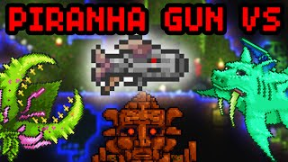getlinkyoutube.com-PIRAHNA GUN VS PLANTERA, GOLEM & DUKE FISHRON! - Terraria 1.2.4; Terraria Challenges