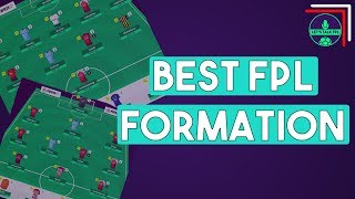 WHAT'S THE BEST FORMATION FOR FPL? | Fantasy Premier League 2018/19 width=