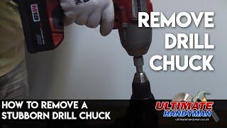 getlinkyoutube.com-Remove drill chuck