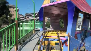 getlinkyoutube.com-Brucomela Wacky Worm Roller Coaster POV Eden Park Rome Italy