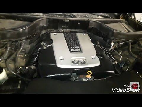 Infiniti QX70 обзор   замена свечей зажигания и промывка дроссельных заслонок   Авто Поисковик