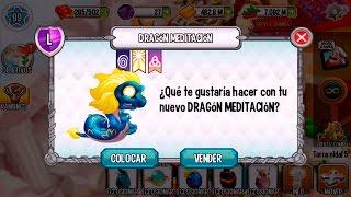 getlinkyoutube.com-Dragon City l Dragón Meditacion l Niveles 1 a 30 + Combates