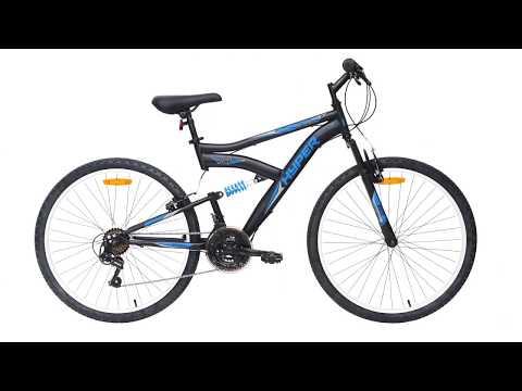Hyper Bikes 66cm Dual Suspension Bike - Black