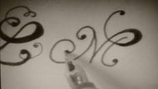 getlinkyoutube.com-write cursive fancy letters - how to write cursive fancy letters - beautiful