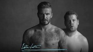 getlinkyoutube.com-David Beckham and James Corden's New Underwear Line
