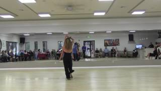 Shawn and Nicole West Coast Swing Spotlight June 11, 2016