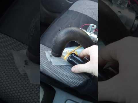 Где датчик температуры антифриза в Chevrolet Резо