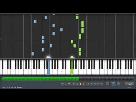 Flo Rida - Whistle - Piano Tutorial (100%) Synthesia + Sheet Music