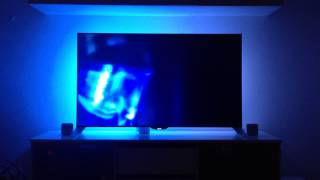 "getlinkyoutube.com-Philips 55"" Smart LED-TV 55PFS8109 Ambilight example Afterglow short version"
