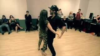 getlinkyoutube.com-Kamacho Zouk Freestyle Demo in NY // Workshop Demo - [Full Song]