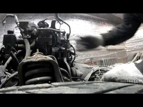 SsangYong Actyon sports часть 2: Снимаем мотор