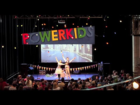 Lissa and Nee Nee Powerkids 2013  HD