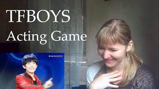 getlinkyoutube.com-TFBOYS - Acting Game |Reaction|