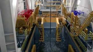 getlinkyoutube.com-Running and landing BOP in Offshore Drilling
