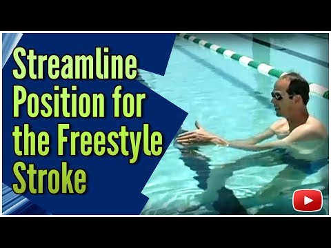 Becoming a Faster Swimmer Freestyle - Streamline Position featuring Coach Tom Jager