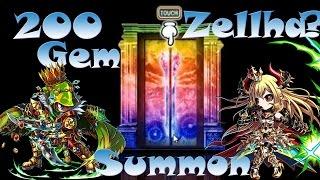 getlinkyoutube.com-Brave Frontier | Episode #82: 200 Gem Summons For Zellha & Zelnite Batch