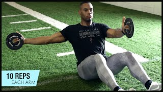 getlinkyoutube.com-Core Workout With NFL Running Back