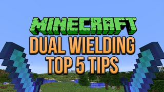 getlinkyoutube.com-Minecraft 1.9: Dual Wielding Top 5 Tips (Tutorial)