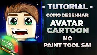 getlinkyoutube.com-[Tutorial] Como desenhar Avatar - Minecraft no Paint Tool SAI