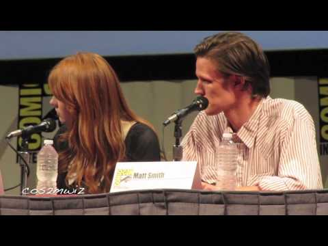 DOCTOR WHO Matt Smith San Diego Comic Con 2011 Part 1 of 5