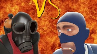 getlinkyoutube.com-TF2 bot battle 21 : Pyro VS Spy