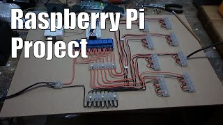 getlinkyoutube.com-Raspberry Pi: Automated lighting control using 8 channel relay and PIR motion