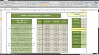getlinkyoutube.com-DATA FROM EXCEL TO AUTOCAD.mp4