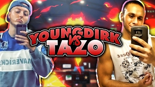getlinkyoutube.com-YOUNG DIRK VS. TAZO LG! LEADER OF TOP STAGE CLAN! - NBA 2K17