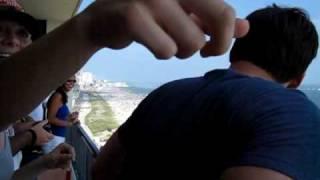 Thunderbirds Sneak pass from 18th Floor!!