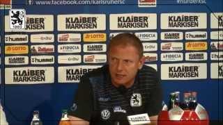 Löwenrunde nach dem KSC-Spiel mit Torsten Fröhling (24.05.2015)