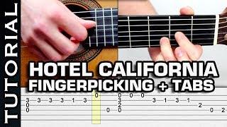 getlinkyoutube.com-como tocar Hotel California FingerPicking - Clase Completa con tabs en guitarra acústica