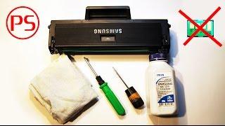 getlinkyoutube.com-Как просто заправить картридж и прошить лазерный принтер