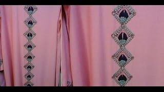 getlinkyoutube.com-تعليم التطريز بزواقة  التركي رائعة  من ام عمران - embroidery